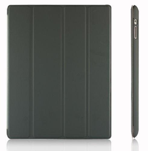 JETech-Gold-Slim-Fit-Folio-iPad-Case-Hlle-Tasche-Schutzhlle-Etui-fr-Apple-the-New-iPad-4-iPad-4-iPad-2-mit-Multi-Stnder-Auto-Sleep-Wake-up-Funktion-Dunkel-Grau