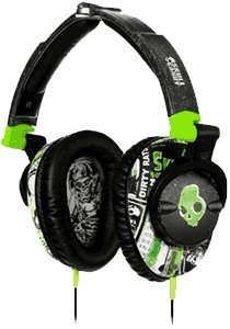 Skullcandy Skullcrushers Over Ear Headphones - Lurker Green / Black