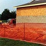 Mutual Industries 14993-48 4 x 100 Warning Barrier Fence