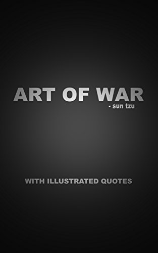 Sun Tzu - The Art of War with illustrated quotes