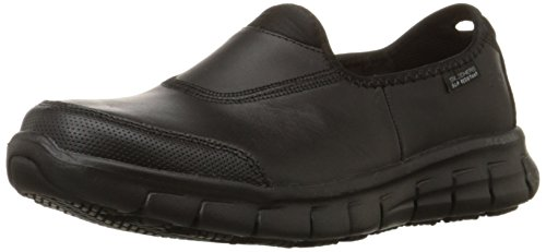 Skechers Work Sure Track Donna US 10 Nero Mocassini UK 7 EU 40 7769