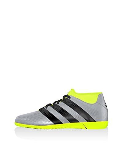 adidas Zapatillas de fútbol Ace 16.3 Primemesh IN J Plateado