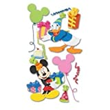 6 Pack DISNEY 3D STKR MICKEY/DONALD Papercraft, Scrapbooking (Source Book)