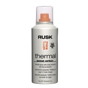 Rusk Thermal Shine Spray,  Pure Argan Oil 4.4