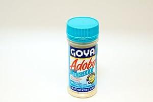 Amazon.com : Goya Adobo Light Without Pepper 8 oz - Adobo