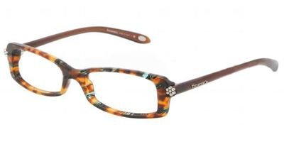Eyeglasses Tiffany TF2049B 8114 HAVANA DEMO LENS