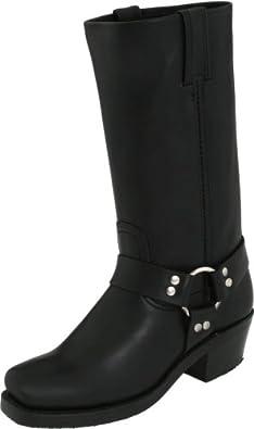 Frye Women's Harness Boot Square Toe Black US