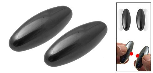 Large Singing Rattle Snake Eggs - Buzz Magnets - 2 Pack