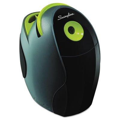 Electric Desktop Sharpener, Gray/Green, Sold As 1 Each