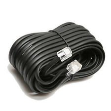 Trisonic 25 Ft. Modular Extension Cord, Black (TS-825BH) (25 Feet White Phone Cord compare prices)