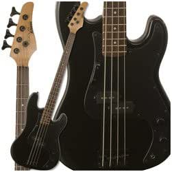 Kramer Focus 420S Bass Guitar, Black Metallic
