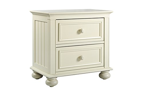 Munire Nantucket Nightstand, Off-White