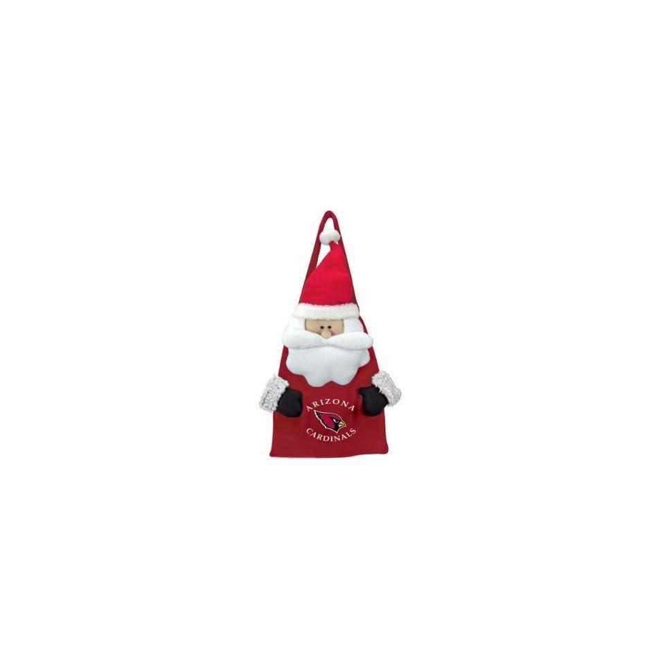 Arizona Cardinals Santa Claus Christmas Door Sack NFL Football on ... 53202c8ff
