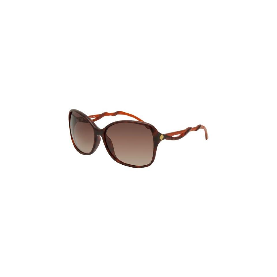 fe73831b0c Spy Fiona Sunglasses in tortoisebronze fade on PopScreen