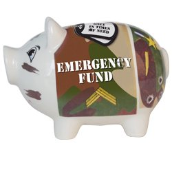 Emergency Fund Piggy Bank - 1