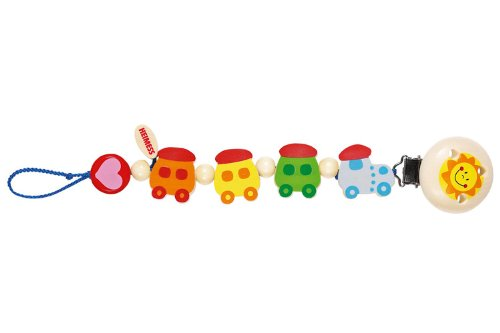 Heimess Pacifier Chain - Train Ii back-941046