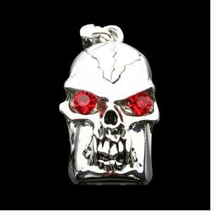 High Quality 8 GB Skull Shape Jewelry USB Flash Memory Drive Necklace by T &  J