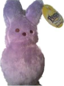 "Peeps 6"" Purple Bunny Bean Bag Plush"