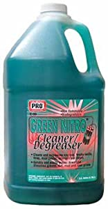 """#1 Cleaner, Biodegradable """"Green Nitro"""" Cleaner/Degreaser Professional Grade Makes 5 Gallons! 5:1ratio 1Gal/128oz FREE 50 STATE PRIORITY SHIPPING by Pro Wax"""