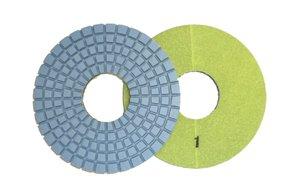 Toolocity CPP06P1 6-Inch Dry 5-Step Diamond Polishing Pads for Concrete-Pos 1 toolocity cpp06p1 6 inch dry 5 step diamond polishing pads for concrete pos 1