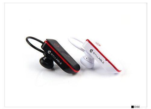New Mini Syllable Wireless Cordless Bluetooth Headphone Earphone Headset With Mic For Drivers Black