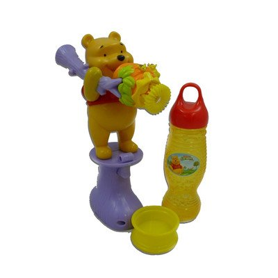 Gazillion Pooh's Motorized Bubble Blower - 1