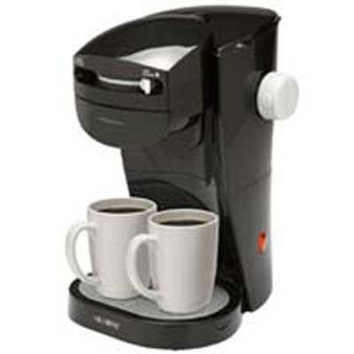 Mr. Coffee SL13 Home Café Single Serve Coffee Maker, Black