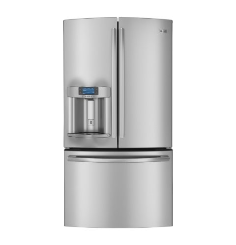 GE PFE29PSDSS Profile 28.6 Cu. Ft. Stainless Steel French Door Refrigerator - Energy Star