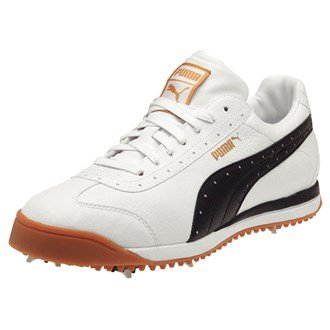 Puma 2013 PG Roma Golf Shoes White/Black