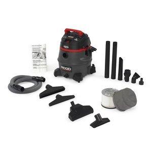 Ridgid 50368 HEPA Certified Wet/Dry Vacuum, 14 gallon, Red (Lead Hepa Vacuum compare prices)