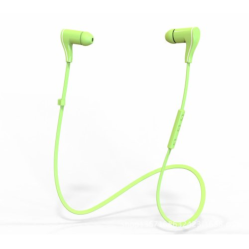 "Sneer ""Isport"" Series Wireless Bluetooth 4.0 Headset Headphone With Noise Reduction And Echo Cancellation For Iphone 5S 5C 4S 4, Ipad 2 3 4 New Ipad,Ipad Air Ipod, Android, Samsung Galaxy S5,Galaxy 4,Galaxy 3,Sony L39H,L36H, Smart Phones #Green"
