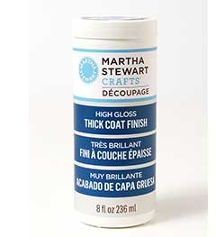 Martha Stewart Crafts Peinture ultra-brillante à couche épaisse Multicolore 236 ml