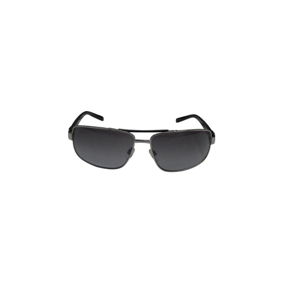 fbaffc36fb ... One Size Fits All.  58.50. AX Square Logo Aviator Sunglasses Armani  Exchange Mens Full Rim Sports Eyewear Palladium Black Gray