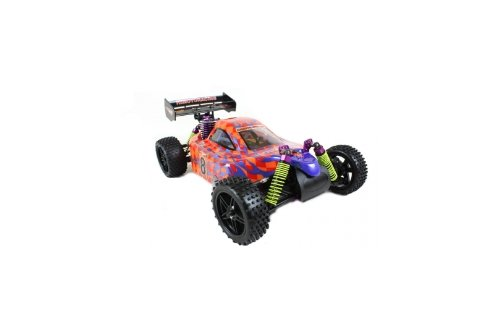 Himoto Racing 2x Speed Nitro Buggy Syclone Chequers 8102 18cxp