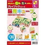 脳育キューブ プレイブック BOXタイプ アーテック 脳育 キューブ モンタージュ 迷路 ゲーム 学習 本 知育玩具 5歳 6歳 7歳 教育