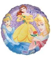 "1 X 18"" Disney Princesses Roses Balloon by Anagram/MD"