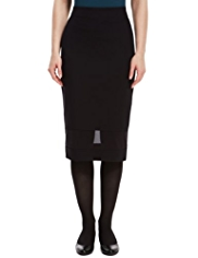 M&S Collection Sheer Panelled Pencil Skirt
