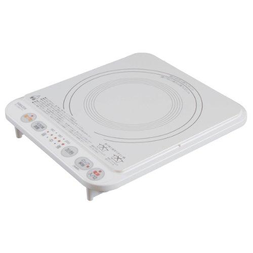 【Amazonの商品情報へ】山善(YAMAZEN) 卓上型IH調理器 ホワイト IH-S1300(W)
