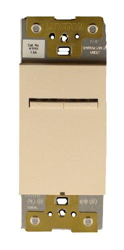 Leviton Atf01-1Lq, Acenti 1.5 Amp Quiet Digital Fan Speed Control, Single-Pole, 3-Way Or More Applications, Quartz