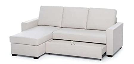 "Pull-out sofa bed 3 seater ""Emily"" with container corner"