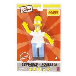 Homer Simpson Bendable - 1