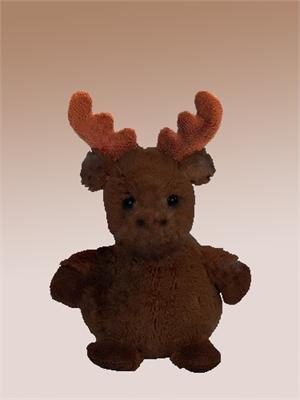 "Brown Chocolate Moose 6"" Plush Bearington"