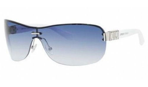 Jimmy Choo Jimmy Choo Flo Sunglasses Palladium / White / Dark Blue Gradient