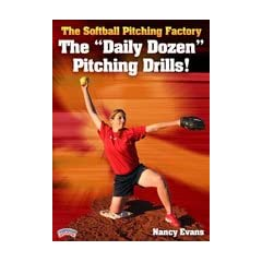 Nancy Evans: The Softball Pitching Factory: The Daily Dozen Pitching Drills! (DVD) by Championship Productions