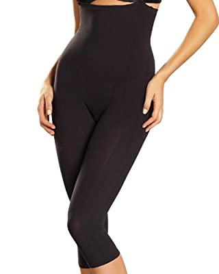 Invisible Bodysuit Shaper with Rear Lift- Leonisa,Black,L-XL