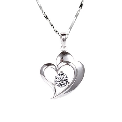 925-sterling-silver-02-carat-cz-stone-lovely-athenas-heart-pendant-on-a-18-beautiful-silver-figaro-c