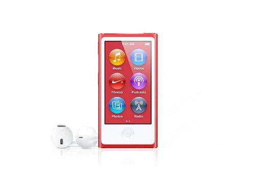 アップル 第7世代 Apple iPod nano 16GB レッド(限定商品)