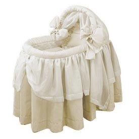 Bassinet Liner Skirt And Hood front-208109