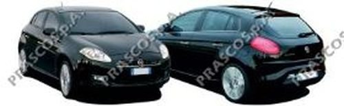 Fensterheber hinten, links Fiat, Bravo, Lancia, Delta III
