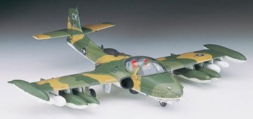 HASEGAWA 00142 1/72 A-37 A/B Dragonfly